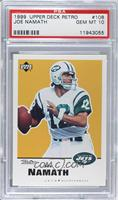 Joe Namath [PSA 10 GEM MT]