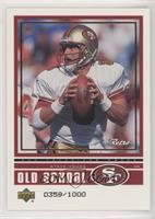 Steve Young, Cade McNown #/1,000