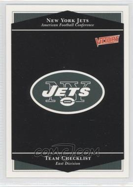 1999 Upper Deck Victory - [Base] #180 - New York Jets