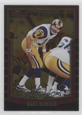 2000 Bowman - [Base] - Gold #121 - Kurt Warner /99