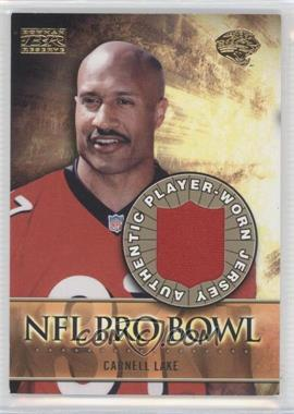 2000 Bowman Reserve - NFL Pro Bowl Jerseys #PB-CL - Carnell Lake