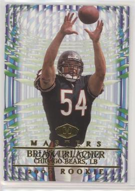 2000 Collector's Edge Masters - [Base] - Retail #208 - Brian Urlacher