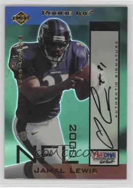 2000 Collector's Edge Odyssey - Rookie Ink #JL - Jamal Lewis /540