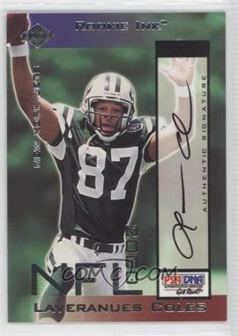 2000 Collector's Edge Odyssey - Rookie Ink #LC - Laveranues Coles /1400