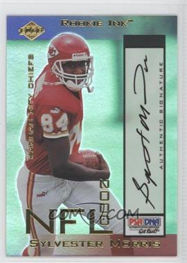 2000 Collector's Edge Odyssey - Rookie Ink #SM - Sylvester Morris /540