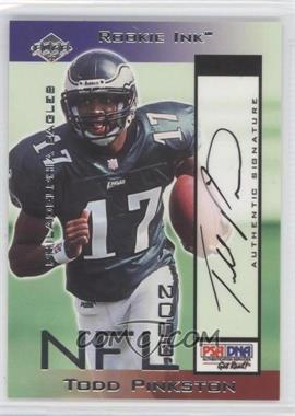 2000 Collector's Edge Odyssey - Rookie Ink #TP - Todd Pinkston /1035