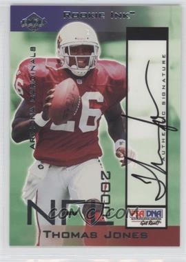 2000 Collector's Edge T3 - Rookie Ink #TJ - Thomas Jones