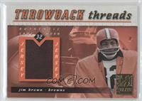 Terrell Davis, Jim Brown /50