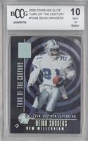 Deion Sanders [BCCG Mint] #/1,000