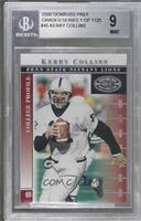 Kerry Collins [BGS9MINT] #/1,125