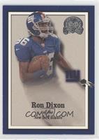 Ron Dixon #/1,500