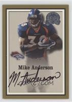 Mike Anderson #/500