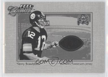 2000 Fleer Greats of the Game - Feel the Game Classics #TEBR - Terry Bradshaw
