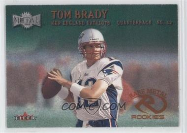 2000 Fleer Metal - [Base] - Emerald #267 - Tom Brady