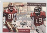 Jerry Rice, Keyshawn Johnson
