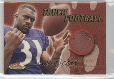 2000 Fleer Showcase - Touch Football #JALE - Jamal Lewis