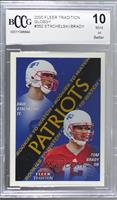 Rookies to Watch - Dave Stachelski, Tom Brady [BCCG Mint]