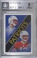 Rookies to Watch - Dave Stachelski, Tom Brady [BGS 9 MINT]