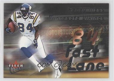 2000 Fleer Ultra - Fast Lane #9FL - Randy Moss