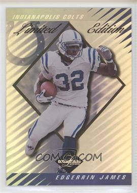 2000 Leaf Limited - [Base] - Limited Edition #171 - Edgerrin James /35