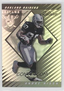 2000 Leaf Limited - [Base] - Limited Edition #39 - Andre Rison /35