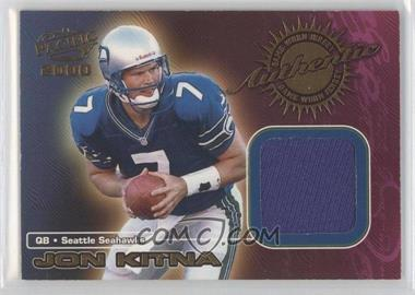 2000 Pacific - Game-Worn Jerseys #7 - Jon Kitna