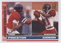 Todd Pinkston, Sherrod Gideon