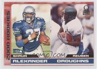 Shaun Alexander, Reuben Droughns #/500