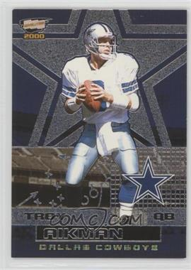 2000 Pacific Revolution - [Base] - Silver #25 - Troy Aikman /80