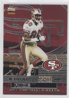 2000 Pacific Revolution - [Base] - Silver #88 - Jerry Rice /80