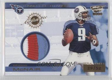 2000 Pacific Revolution - Game Worn Jerseys #20 - Steve McNair