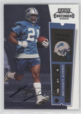 2000 Playoff Contenders - [Base] #132 - Reuben Droughns