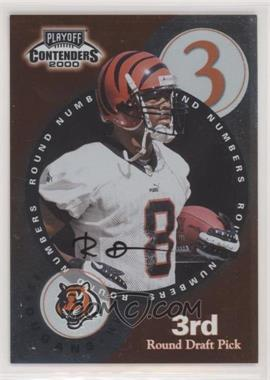 2000 Playoff Contenders - Round Numbers Autographs #RN9 - Laveranues Coles, Ron Dugans