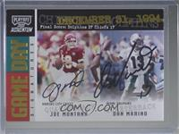 Joe Montana, Dan Marino [Noted] #/25
