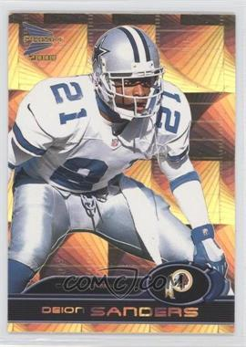 2000 Prism Prospects - [Base] - Holographic Gold #99 - Deion Sanders /50