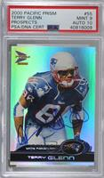 Terry Glenn [PSA/DNA Certified Encased]
