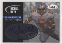Michael Wiley [EX to NM] #/400