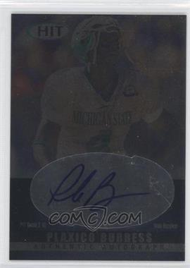 2000 SAGE Hit - Autographs - Emerald #A4 - Plaxico Burress