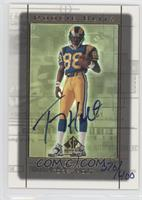Torry Holt 1999 SP Authentic Rookie Blitz /400