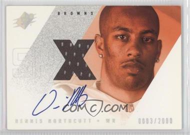 2000 SPx - [Base] #141 - Dennis Northcutt /2000