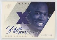 Shaun Alexander [Noted] #/2,000