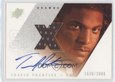 2000 SPx - [Base] #157 - Travis Prentice /2000