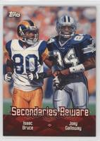 Isaac Bruce, Joey Galloway [Noted]