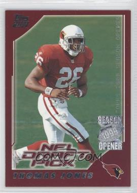2000 Topps Season Opener - [Base] #203 - Thomas Jones