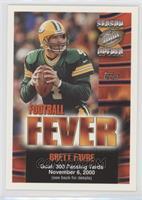 Brett Favre (November 6)