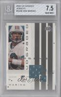Dan Marino [BGS 7.5 NEAR MINT+]