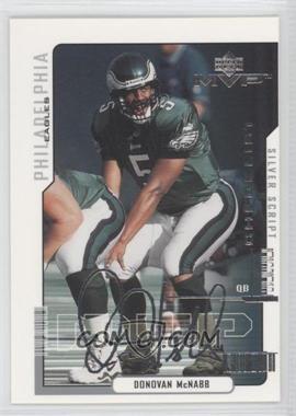 2000 Upper Deck MVP - [Base] - Silver Script #220 - Donovan McNabb