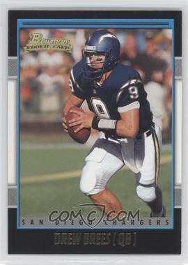 2001 Bowman - [Base] - Gold #164 - Drew Brees
