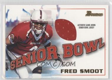 2001 Bowman - Rookie Jerseys #BJ-FS - Fred Smoot