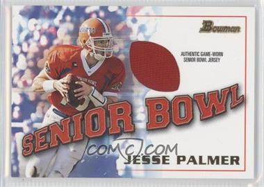 2001 Bowman - Rookie Jerseys #BJ-JP - Jesse Palmer